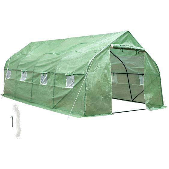 Gewächshaus Folienzelt - grün