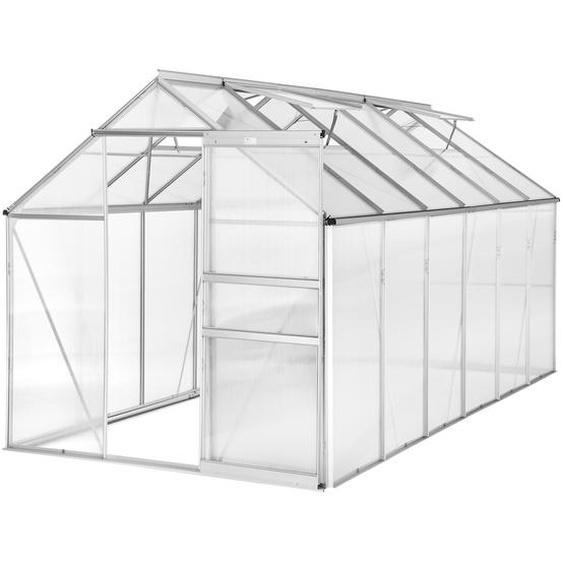 Gewächshaus ohne Fundament - 375 x 185 x 195 cm