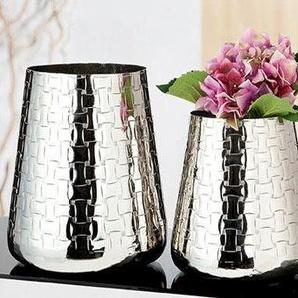 GILDE Dekovase »Treccia«, Konische Vase