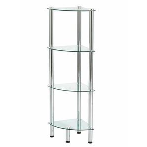 Glas-Eckregal Serie Maupiti 104 cm
