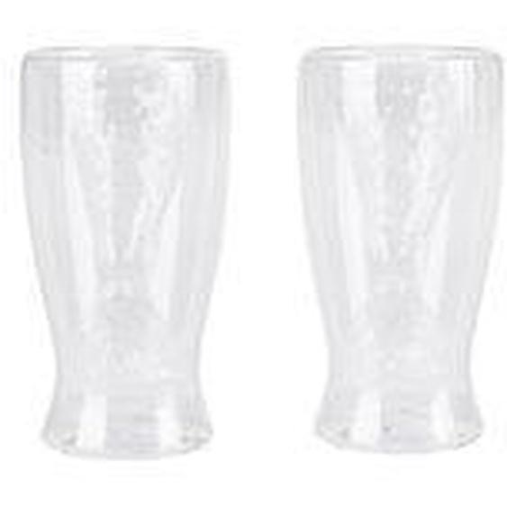 Glas-Set, 2-tlg., Flosse,  living