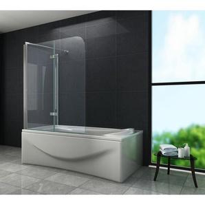 Eck-Duschtrennwand AROUND 75 (Badewanne) - GLASDEALS