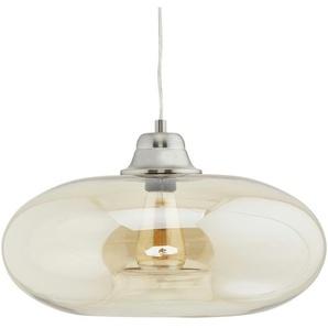 Glaspendelleuchte, 1-flammig ¦ gelb ¦ Maße (cm): H: 150 Ø: [40.0] Lampen & Leuchten  Innenleuchten  Pendelleuchten » Höffner