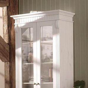 Home affaire Glasvitrine mit 2 Glastüren, weiß, FSC-Zertifikat, »Teresa«, , , FSC®-zertifiziert