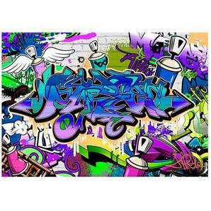 Glatte Fototapete Graffiti