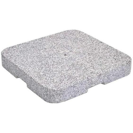 Glatz Granitsockel Z 90kg - ohne Standrohr Hellgrau