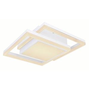 Globo LED-Deckenleuchte, Weiß, Kunststoff