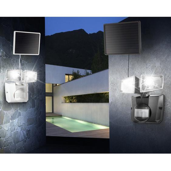 Globo LED-Solarleuchte SOLAR Kunststoff Grau EEK: A