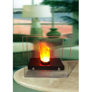 Globo LED-TABLE HEATER FIRE Metall Silberfarben