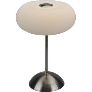 Globo LED-Tischleuchte Trude Nickel matt Ø 19,5 cm EEK: A