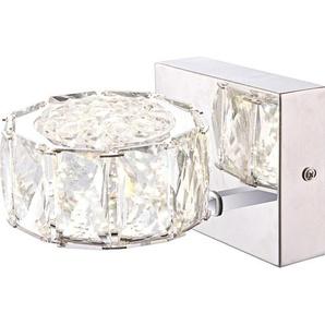 Globo LED-Wandleuchte Amur Chrom EEK: A+
