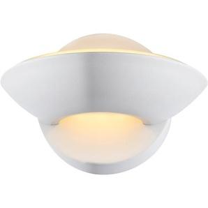 Globo LED-Wandleuchte SAMMY Weiß EEK: A