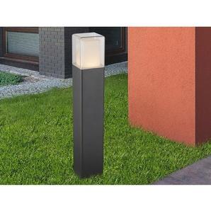 Globo LED-Wegeleuchte DALIA Aluminium Schwarz 50 cm EEK: A+