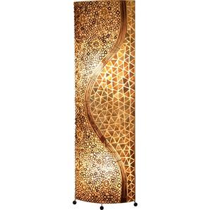 Globo Stehlampe, Holz, Textil, Natur