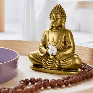 Glücks-Buddha - Goldfarben -