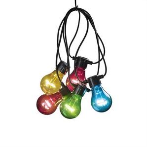 Glühbirnen-Lichterkette 10-flammig