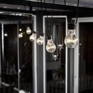 Glühbirnen-Lichterkette mit 10 Leuchten