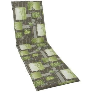 Auflage  Bamboo 2 ¦ grün ¦ Maße (cm): B: 58 H: 5