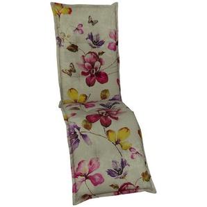 Auflage  Orchidee ¦ beige ¦ Maße (cm): B: 50 H: 8 Garten  Auflagen & Kissen  Sonstige Sitzkissen » Höffner