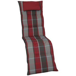 Auflage  Turno ¦ rot ¦ Maße (cm): B: 50 H: 7 Garten  Auflagen & Kissen  Sonstige Sitzkissen » Höffner