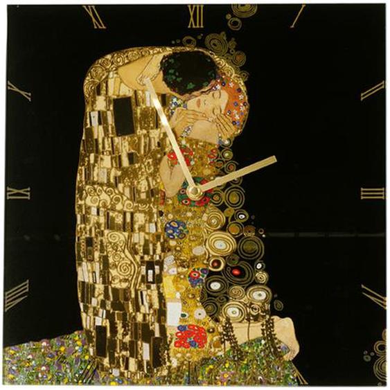 Goebel Artis Orbis Der Kuss Uhr Angebot Wanduhr Gustav Klimt Göbel