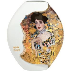 Goebel Dekovase Adele Bloch Bauer B/H/T: 10 cm x 20 16,5 bunt Blumenvasen Pflanzgefäße Wohnaccessoires