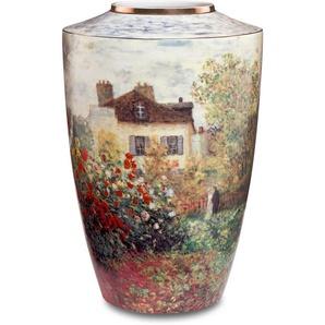 Goebel Tischvase »Vase Claude Monet - Das Künstlerhaus« (1 Stück), aus Porzellan, Höhe ca. 24 cm