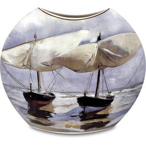 Goebel Tischvase »Vase Joaquin Sorolla - Boote / Spaziergang am Strand« (1 Stück)