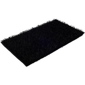Badematte Shaggy Uni, Gözze, Höhe 50 mm, rutschhemmend beschichtet, fußbodenheizungsgeeignet
