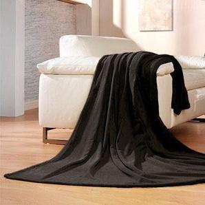 Gözze Wohndecke »Memphis«, 150x200 cm, schwarz
