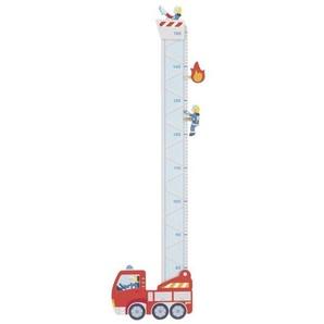 goki Messlatte »Messlatte Feuerwehr dekorativ stabil 2 Klammern« (Set)