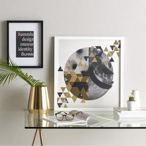 Golden Perspective, gerahmter Kunstdruck