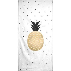 Golden Pineapple - Strandtuch