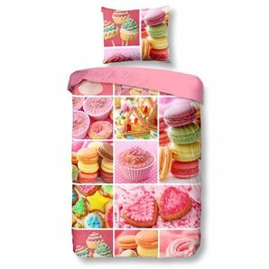Good Morning Kinderbettwäsche »Sweet«, 80x80 cm, rosa, aus 100% Baumwolle