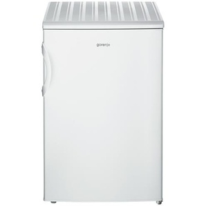 gorenje Kühlschrank  RB 4092 ANW ¦ weiß ¦ Glas , Edelstahl, Kunststoff ¦ Maße (cm): B: 55,3 H: 84,5 T: 57,4 Elektrogeräte  Kühlschränke » Höffner