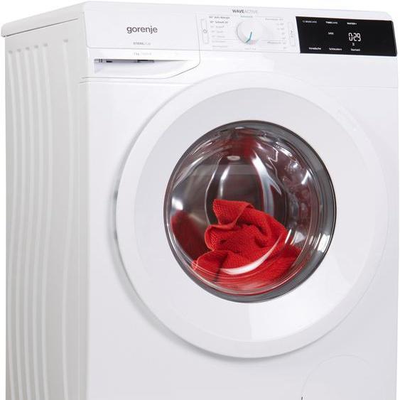GORENJE Waschmaschine WE 743 P, WE743P, 7 kg, 1400 U/min C (A bis G) Einheitsgröße weiß Waschmaschinen Haushaltsgeräte