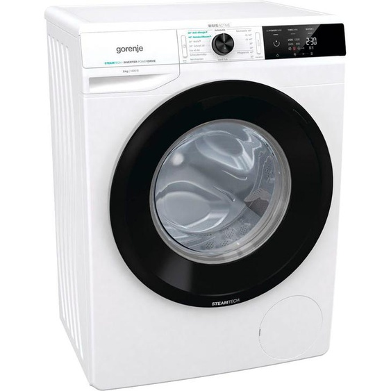 GORENJE Waschmaschine WEI84SDPS, 8 kg, 1400 U/min, Energieeffizienz: D