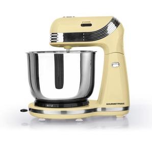 GOURMETmaxx Küchenmaschine Retro 250W in Vanille