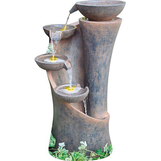Granimex Wasserspiel Baihong Polyresin Natur 89 cm x 50 cm x 39 cm