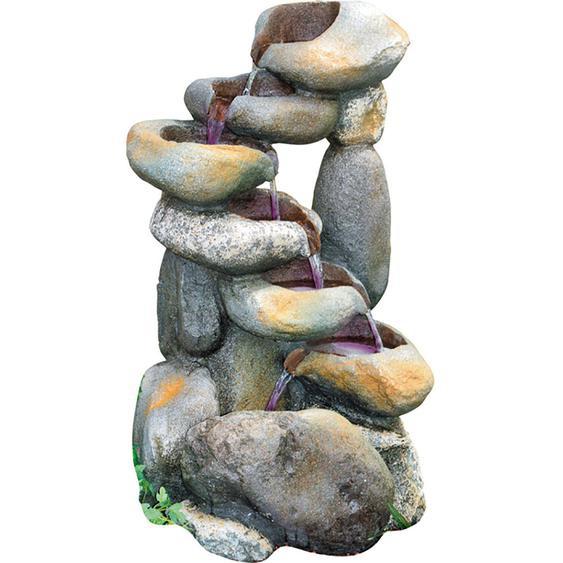 Granimex Wasserspiel Dong Polyresin Natur 84 cm x 45 cm x 50cm