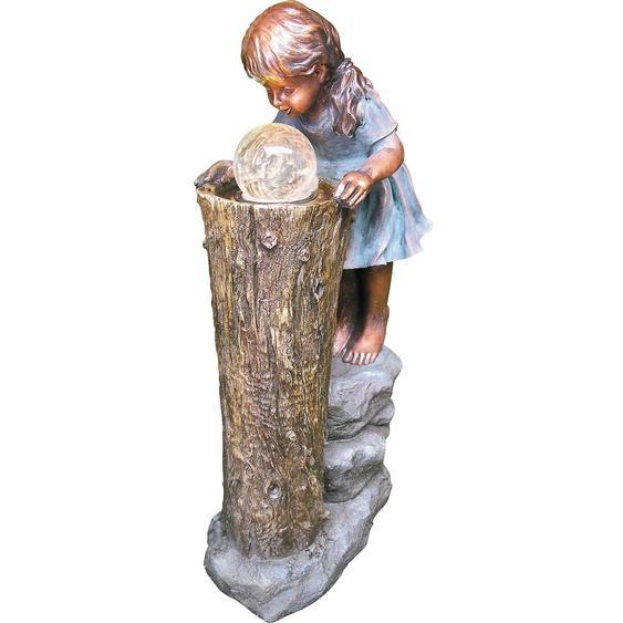 Granimex Wasserspiel Zhisheng Polyresin Natur_83 cm x 41 cm x 23 cm