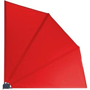 Grasekamp Balkonfächer 120 x 120 cm Rot mit