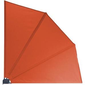 Grasekamp Sichtschutz Fächer Premium 140x140cm Orange