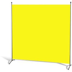 Grasekamp Stellwand 180 x 180 cm Gelb