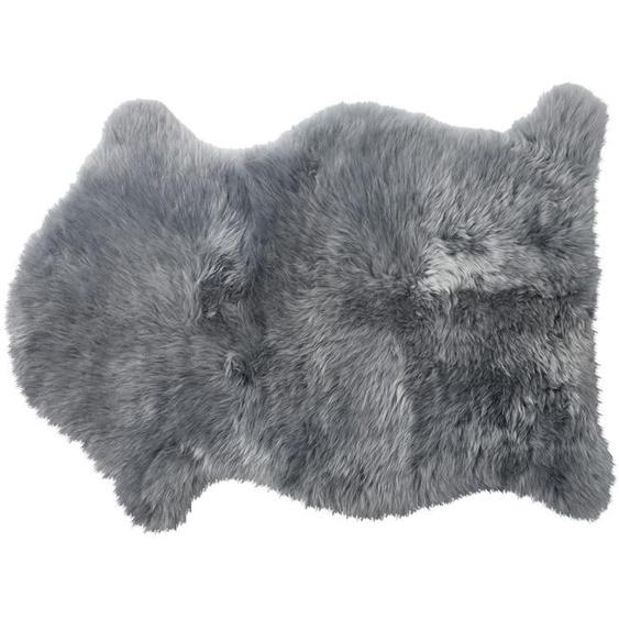 Graues Lammfell - grau - Schaffell   Möbel Kraft