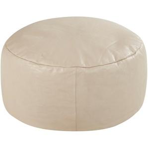 Gray & Jones Sitzpouf - beige - 60 cm - 30 cm - 60 cm | Möbel Kraft