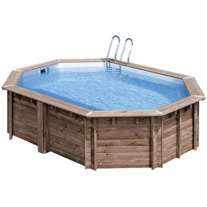 GRE 2021 , Natur, Kiefer , Holz , Kiefer , 335x130 cm , Gartenspaß, Pools und Wasserspaß, Pools