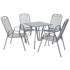 greemotion Gartenmöbel Set »Toulouse«, 5- oder 7-teilig, mit Stahlrohrgestell, wetterfest