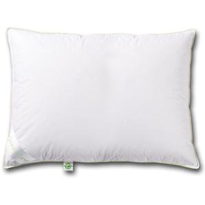 Greenfirst® Federkopfkissen (40x80, weiß)