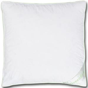 Greenfirst® Federkopfkissen (80x80, weiß)